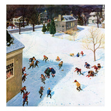 """Snowball Recess""  February 4  1956"