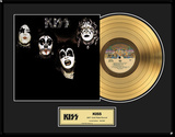 KISS - &quot;KISS&quot; Gold LP