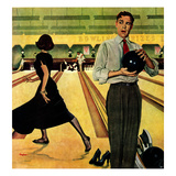 """Bowling Strike""  January 28  1950"