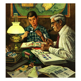 """Stamp Collecting""  February 27  1954"