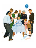 """First Birthday""  November 2  1957"