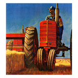 &quot;Wheat Harvest&quot;  August 12  1950