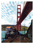 """Fishing Under the Golden Gate""  November 16  1957"