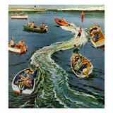 """Making a Wake""  July 26  1958"