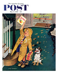 &quot;Happy Mother&#39;s Day&quot; Saturday Evening Post Cover  May 11  1957