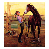 &quot;Putting on the Bridle&quot;  July 20  1957