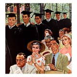 """Entrance of the Graduates""  June 7  1958"