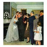 """Receptions Line""  June 16  1951"