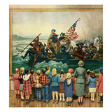 """Washington Crossing the Delaware""  February 24  1951"
