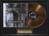 Bon Jovi - &quot;New Jersey&quot; Gold LP