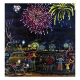 """Fireworks""  July 4  1953"