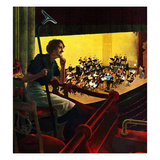 """Orchestra Rehearsal""  January 13  1951"