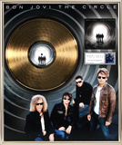 "Bon Jovi - ""The Circle"" Gold LP"