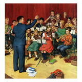 """School Orchestra""  March 22  1952"