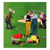 """Eighteenth Hole""  August 6  1955"