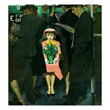 """Subway Girl and Easter Lily""  March 28  1953"