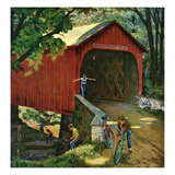 """Covered Bridge""  August 14  1954"