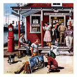 &quot;Coastal Postal Office&quot;  August 26  1950