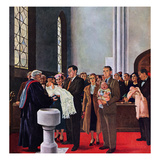 """Christening or Baptism""  March 13  1954"