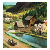 """Mountain Farm""  March 23  1957"