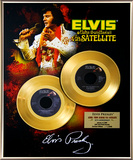 "Elvis Presley - ""Aloha From Hawaii"" 35th Anniv Gold 45s"