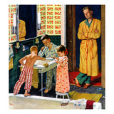 &quot;Brushing Their Teeth&quot;  January 29  1955