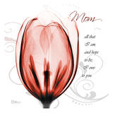 Happy Tulip in Red  Mom