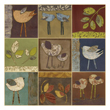 Bird And Leaf Collection