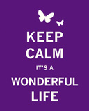 Keep Calm It&#39;s a Wonderful Life