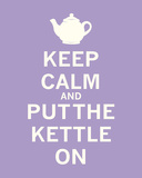 Keep Calm  Lavender Tea