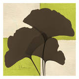 Ginkgo Brown Trio on Green