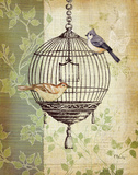 Botanical Birdcage I