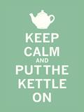 Keep Calm, Mint Tea Reproduction d'art par The Vintage Collection