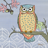 Pastel Owls II