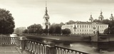 View on St Nicholas Cathedral  St Petersburg