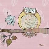 Pastel Owls III