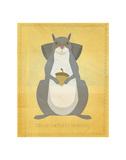 The Relentless Squirrel Reproduction d'art par John Golden