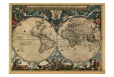 World Map  c1664