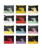 Twelve Electric Chairs, c.1964/65 Reproduction d'art par Andy Warhol