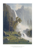 Bridal Veil Falls  Yosemite  c1871-73