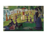 Sunday Afternoon on the Island of Grand Jatte  c1864-6