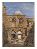 The Church of the Holy Sepulchre  Jerusalem