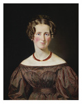 Portrait of Marie Wilhelmine Jensen  Nee Visby
