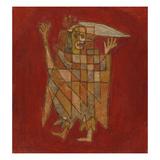 Allegorical Figure; Allegorische Figurine (Verblassung) Giclée par Paul Klee