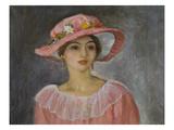 The Pink Hat; Le Chapeau Rose