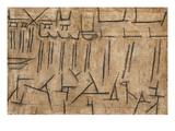 Templefest Giclée par Paul Klee