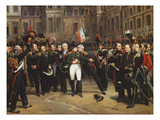 The Farewells of Fontainebleau  20th April 1814