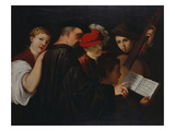 A Group of Five Musicians; Un Groupe De Cinq Musiciens