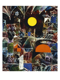 Moonrise - Sunset; Mondauf - Sonnenuntergang Giclée par Paul Klee