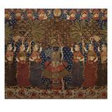 A Gold Chintz Pichhavai of Krishna